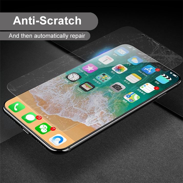 iPhone x soft tpu screen protector