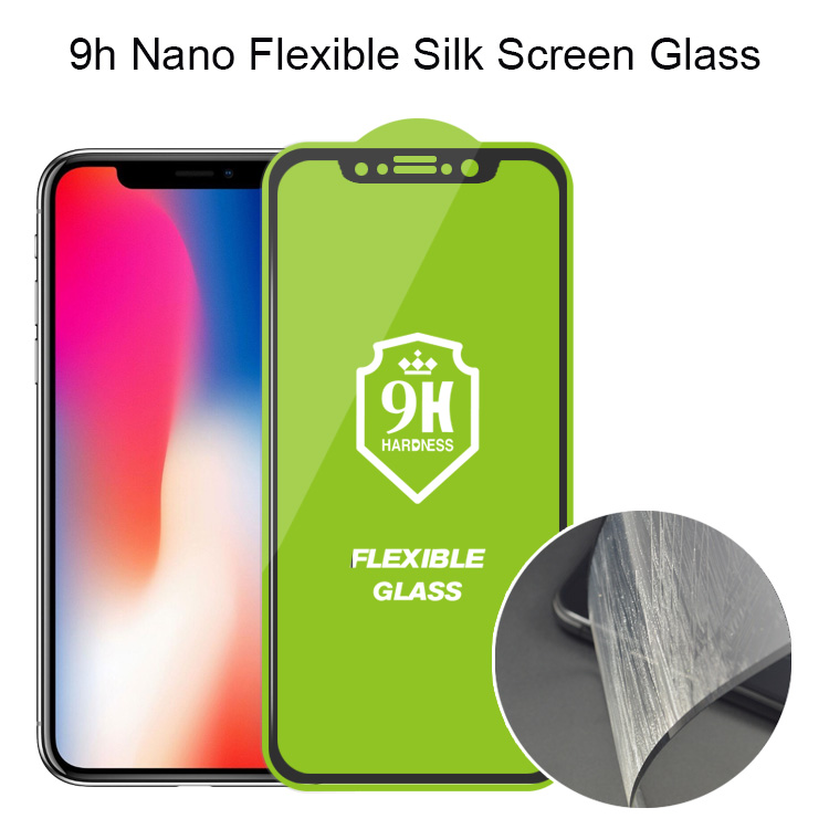 9H Flexible Glass Screen Protector for iphone xs