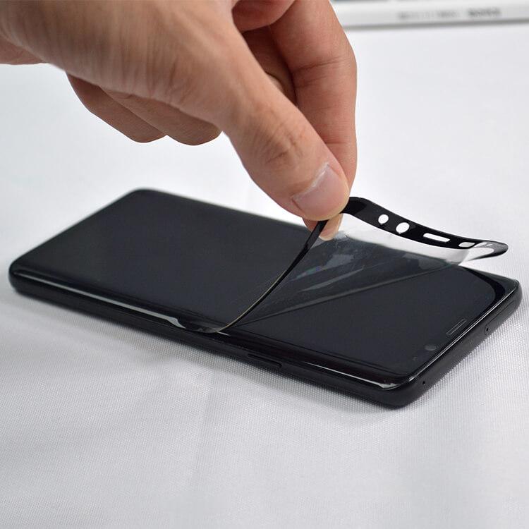 full glue adhesive flexible glass screen protector