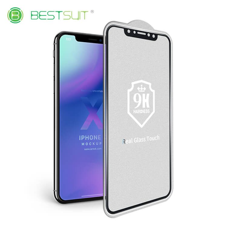 Real Glass Touch Flexible Glass Screen Protector for iphone x