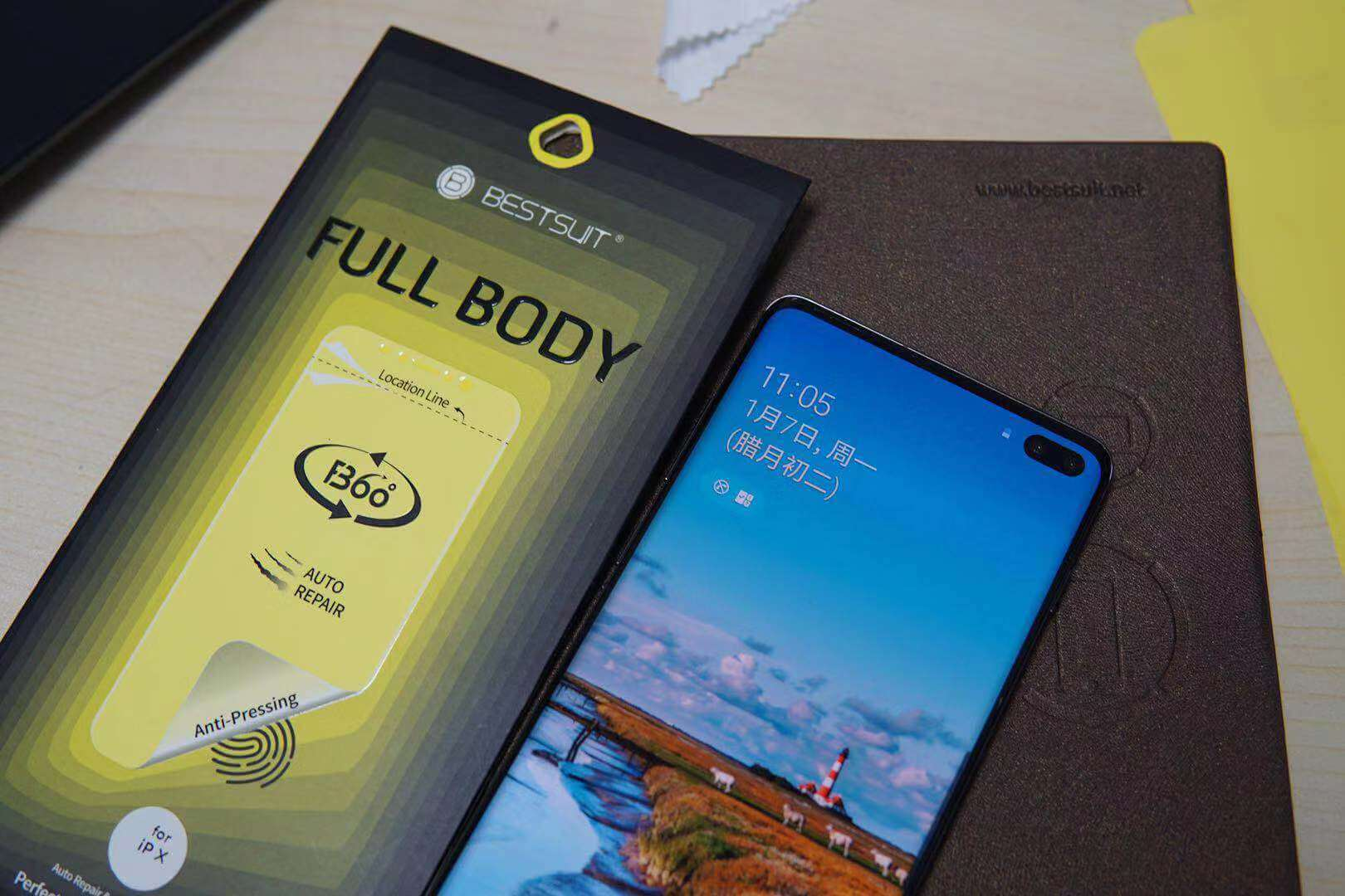 Samsung galaxy s10lite screen protector