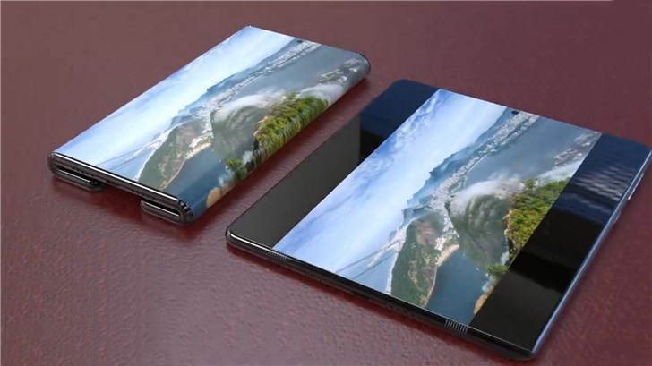 Millet folding mobile phone