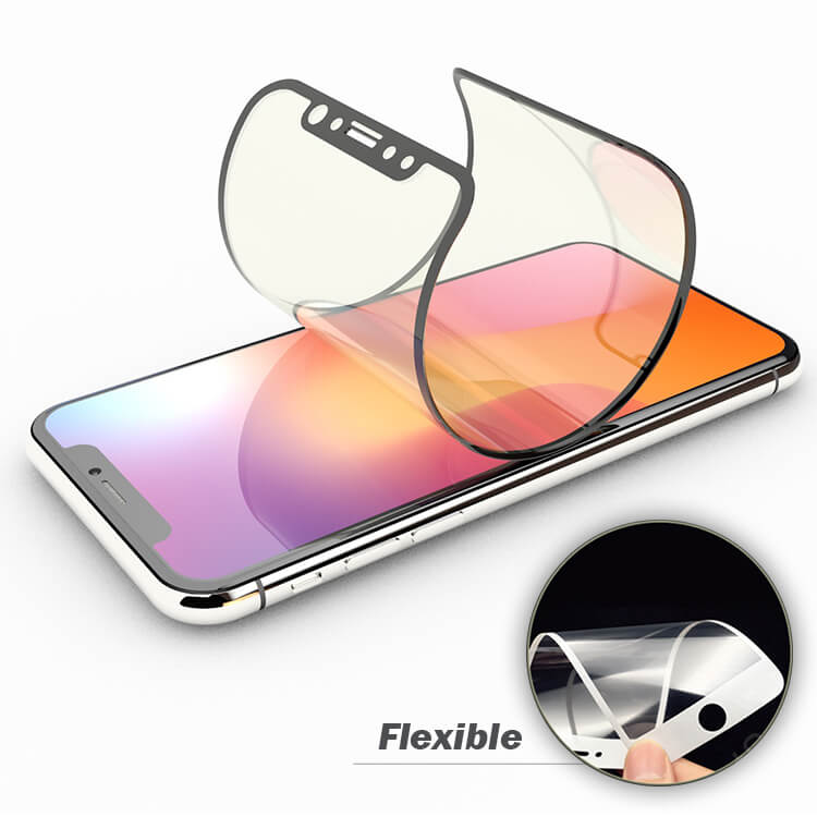 iPhone x 9H 3d molecular glass screen protector wholesale