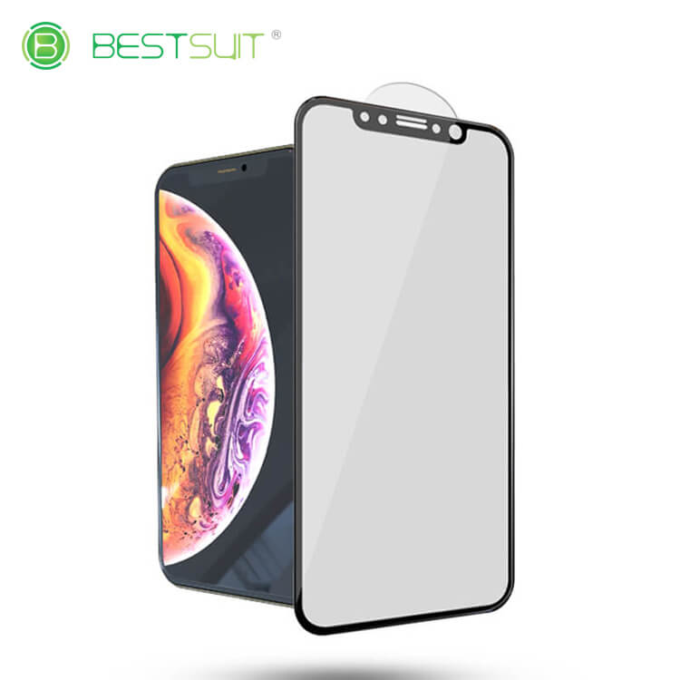 iPhone Xs Max 3d Cover Tempered Glass Screen Protector