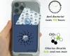 Anti Virus Blocker Shut Out Air Doctor Card Freshener Disinfection Sterilizing Protection Chlorine Dioxide Card