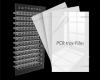 PCR plate sealing film