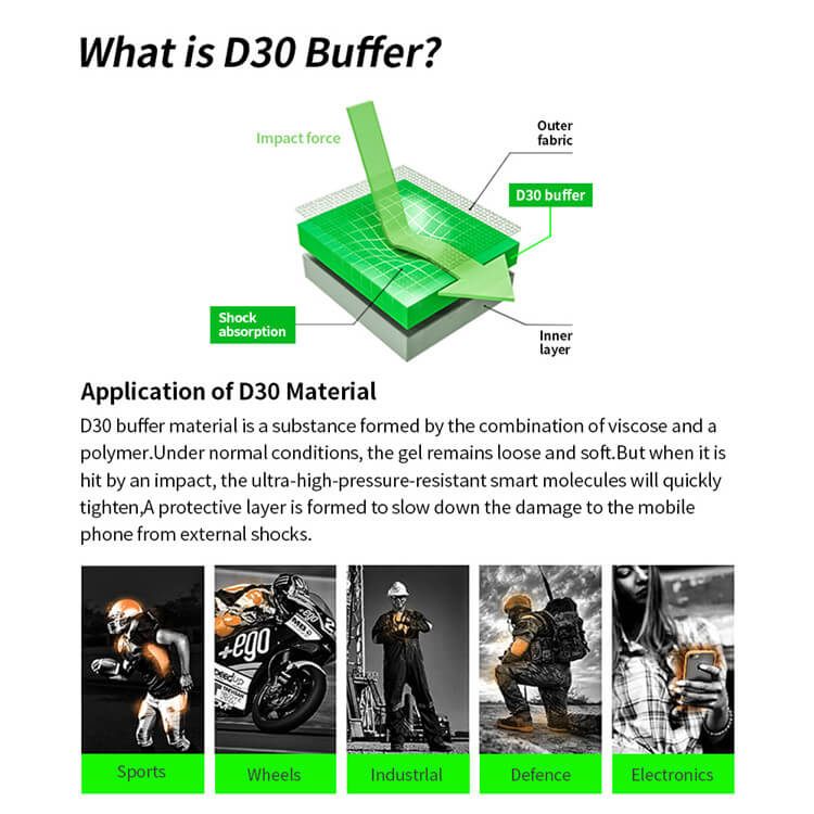 what is d3o screen protector